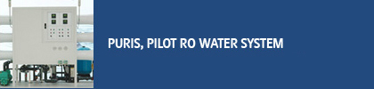 PURIS,PILOT RO WATER SYSTEM